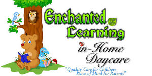 Established in-home daycare has immediate openings!