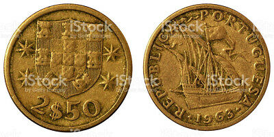 2,50 Portugiesische Escudo 1980