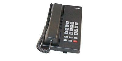 Lot Of 10 Refurbished Toshiba Dkt-2001 Single Line Digital Phone Charcoal