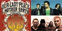 WANTED: Volunteers needed for Our Lady Peace & I Mother Earth!