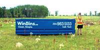 Bin Rentals - WinBins.ca ~~ 4,12, 20 Yard Bins ~ 204-963-5133