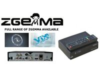 ZGEMMA BOXES ALL MODELS CABLE IPTV & SATELLITE - BEST PRICES - CHEAPER THAN ELSEWHERE! i55 H2H H5 LC