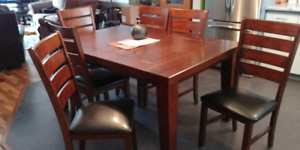 Dining table & 6chairs