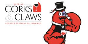 2 Corks & Claws tickets -Shediac Lobster Fest