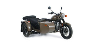2013 Ural Motorcycle and Sidecar
