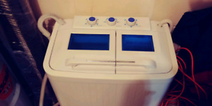 Portable washer and spin dryer for sale!