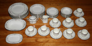 56 Piece Lot of China Pattern Noritake Shenandoah Antique