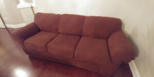 3 cushion couch for. Sale