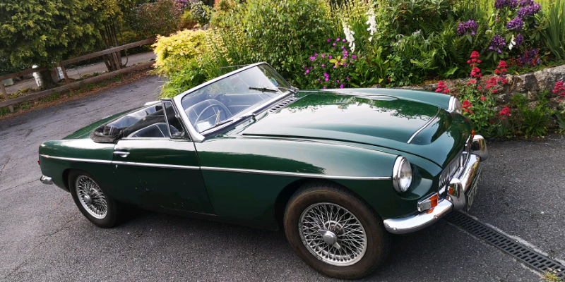 mgc convertable 1969 same owner for 35 years | in Newton Abbot, Devon |  Gumtree