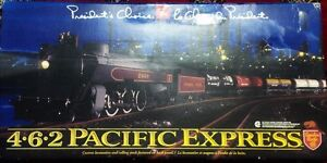 President Choice Trian Set with Rails -New in Box-Sealed