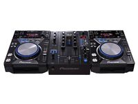 Pioneer cdj400 and cdm400 special edition set