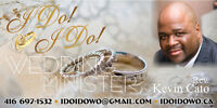 I Do! I Do! Wedding Officiant--Ordained and License