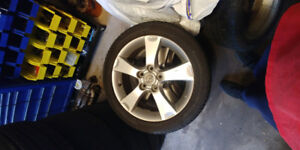 205-50-17 rims and tires 5x114.3