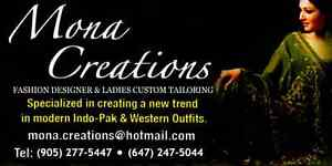 MONA CREATIONS (Fashion Designer & Custom made Ladies Tailoring)