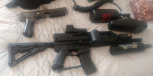Equippement paintball complet
