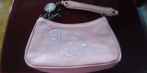 Juicy Couture pink purse - leather vintage