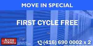 Storage Deals with Access Storage.  Call (416) 690 0002 x 2