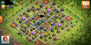 Clash of clans Near max hero th12