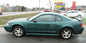 2002 Ford Mustang Coupe (2 door) - As is..