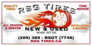 RSG TIRES USED & NEW Oakville / Halton Region Toronto (GTA) image 3