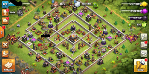 Clash of clans Near max th11