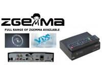 ZGEMMA BOXES ALL MODELS CABLE IPTV & SATELLITE i55 H2H H5 STAR LC H2 H5.2TC H52TC H4 H.2H TWIN COMBO