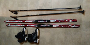 Youth Cross Country Skate Ski Package