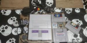 Super Nintendo avec jeux Snes