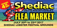 20th annual Shediac International Flea Market