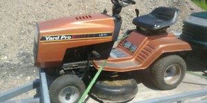Small Yard Pro Lawn Tractor