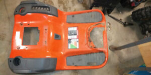 Parting out Husqvarna lawn tractor