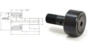 Enduro CF1.5-SB  Quality cam follower bearing McGill CF112SB track roller 1 1/2