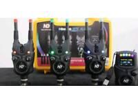 New direction bite alarm set 3 + 1 and t9 motion sensor