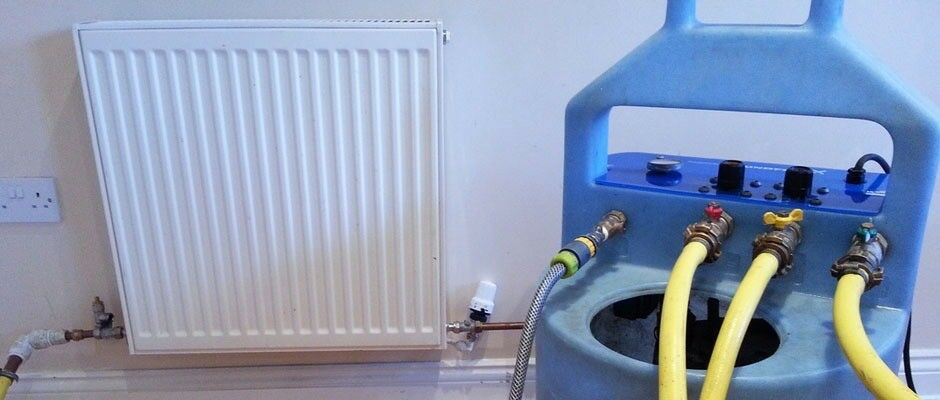 Central Heating Power Flushing, radiators not warming up properly? get it cleaned ready for winter