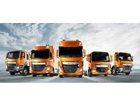 HGV 7.5T Drivers required for easy work FAST START