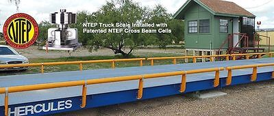 Usa Measurements Scale 40 11 Ft Truck Scale 100000 Lb Steel Deck Ntep Approved