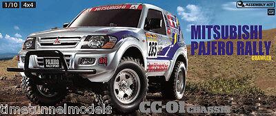 Tamiya 58602 Mitsubishi Pajero Rally - CC01 4WD RC Car Kit (WITHOUT ESC)
