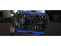4GB Gigabyte GeForce GTX 960 WINDFORCE 2X OC GRAPHICS CARD - VR Oculus Rift Ready, Ethereum Mining