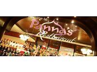 Restaurant Waiters and Waitresses needed ASAP - Panna's Restaurant in Romford Essex