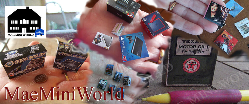 MAE Mini World miniatures