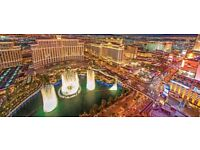 FLIGHT TICKETS THIS WEEKEND! London Heathrow - Las Vegas + Return