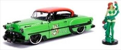 DC Bombshells - Poison Ivy 1953 Chevy Bel Air 1:24 Scale Hollywood Rides Diecast