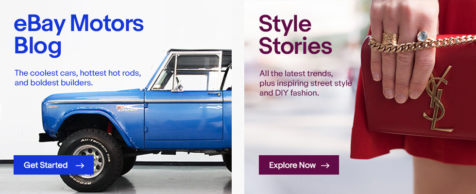 Official Fashion and Motors Blog | eBay