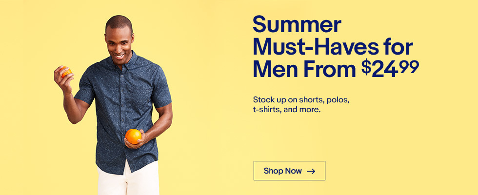 crosshoakley t shirt sale fyl9  Summer Must-Haves for Men From $2499  Stock up on shorts, polos,