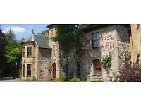 Staff wanted for a seasonal hotel beside beautiful Loch Ness...