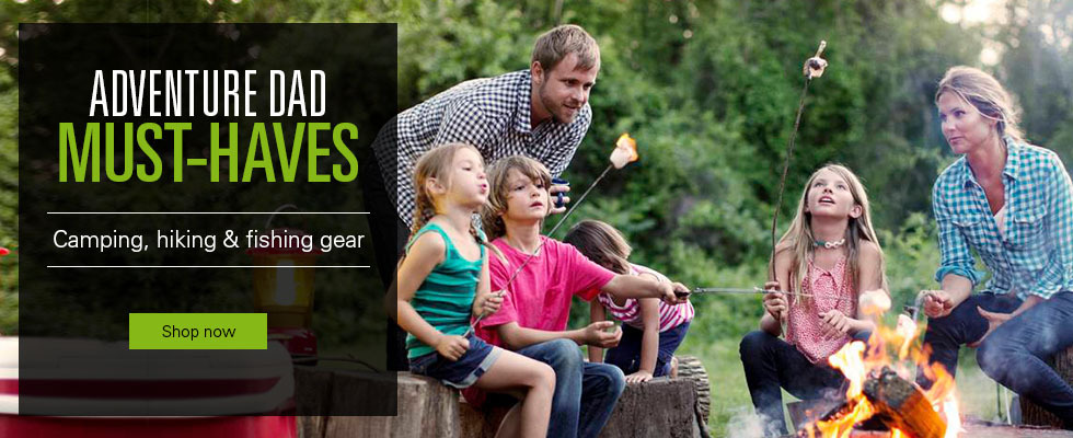 Clickj here to visit outdoor deals for dad