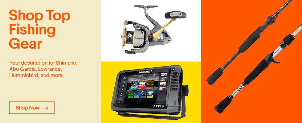 Fishing gear supplies online ebay for Fishing equipment stores