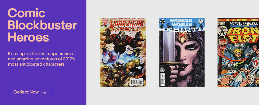Comic Book Blockbuster Heroes of 2017 | Shop Now
