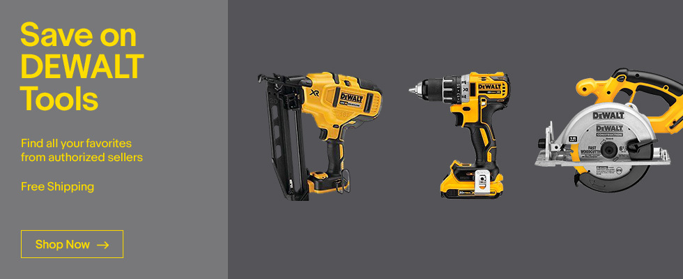 Save on DEWALT Tools | Find all your favorites from authorized sellers | Free Shipping | Shop Now